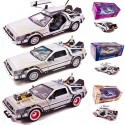 Pack 3 Delorean Coche Regreso al Futuro I,II, III Réplica Back to the future