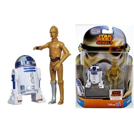 Pack 2 figuras Mission Palpatine y Yoda Star wars Hasbro escala 3 3/4