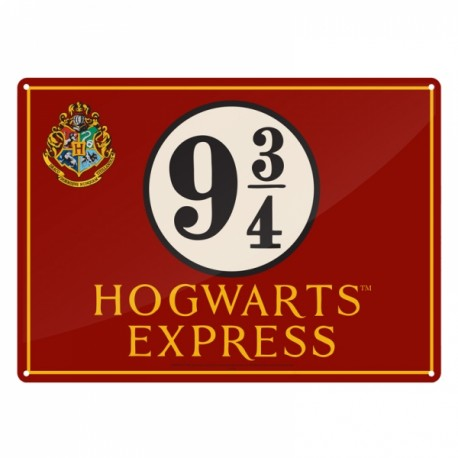Harry Potter Placa de Chapa Undesirable No. 1 41 x 30 cm