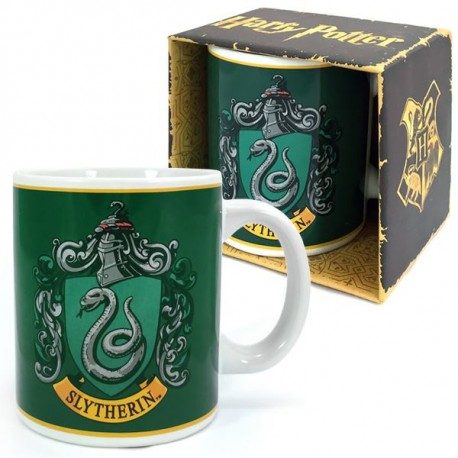 Taza Escudo Slytherin Harry Potter 350 ml