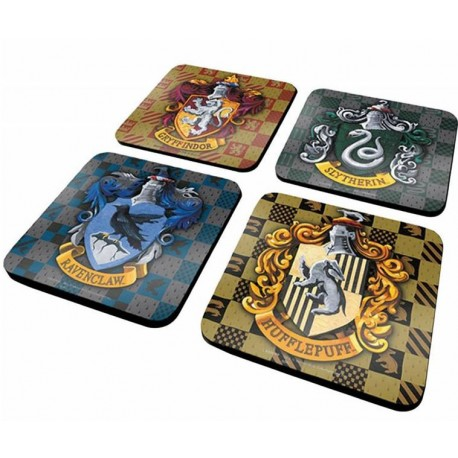 Pack 3 Tazas Gryffindor Hogwarts Express Slytherin Harry Potter espresso 110 ml
