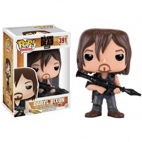 Figura Carl Walking dead Funko Pop Vinyl
