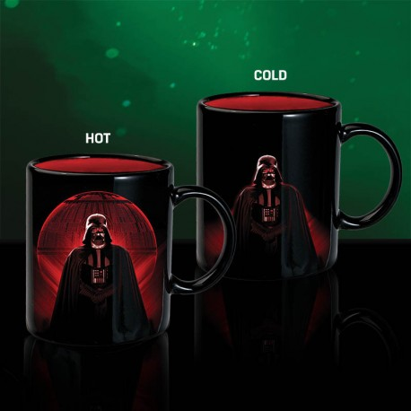 Taza sensitiva al calor BB-8 Star Wars BB8 heat change mug térmica
