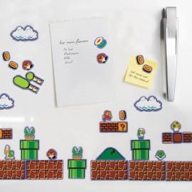 Set Imanes Levels Super Mario Bros Mario Nintendo