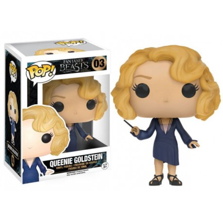 Figura Tina Goldstein coins Animales Fantasticos Fantastic beasts Harry Potter 10 cm Pop Vinyl