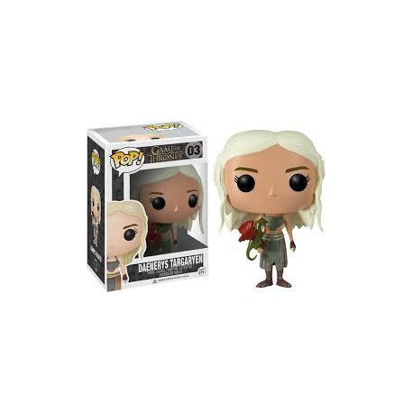 DAENERYS TARGARYEN num 3 JUEGO DE TRONOS FIGURA POP VINYL (Game of Thrones)