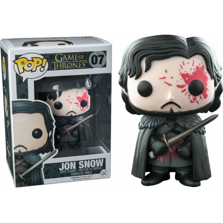 Jon Nieve Snow Bloody Ed especial JUEGO DE TRONOS FIGURA Funko POP VINYL (Game of Thrones)