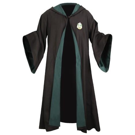 Túnica Harry Potter Slytherin Capa Robe