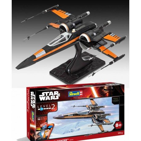 Star Wars Episode VII Maqueta EasyKit Poe's X-Wing Fighter 25 cm