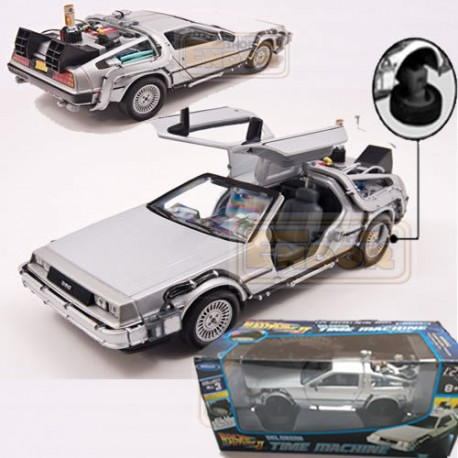 Delorean Coche Regreso II al Futuro Réplica Back to the future