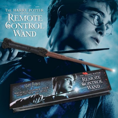 Réplica Varita mágica Ron Weasly caja Olivanders Harry Potter Noble collection edicion Character wand