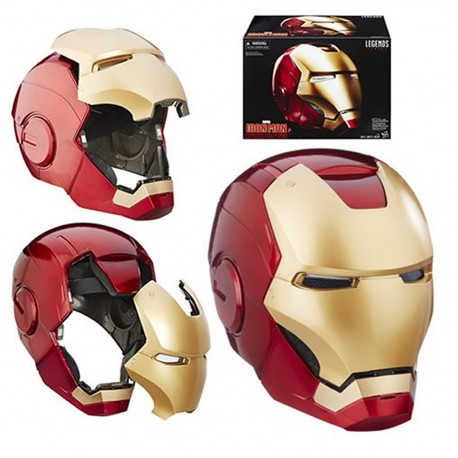 Lámpara Iron Man pared Casco Marvel lampara