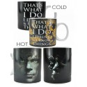 Taza Sensitiva Calor Tyrion Lannister I drink i know things Juego Tronos