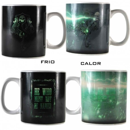 Taza Dark Lord Marca tenebrosa Harry Potter cambia con el calor 400 ml Sensitiva Termica
