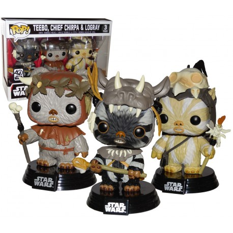 Figura Pop Ewok Wickett Star Wars Funko Pop vinyl
