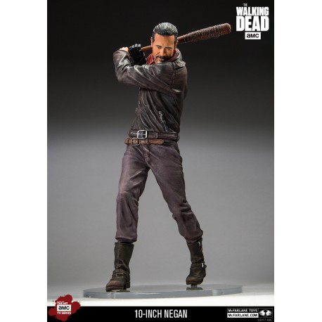 The Walking Dead TV Version Figura Color Tops Negan Bloody Edition 18 cm