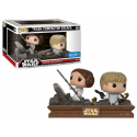 Pack 2 figuras exclusivas Movie Moments Leia Luke Skywalker trash compactor escape