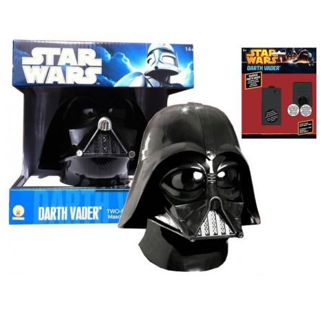Casco DArth Vader adulto talla estándar dos piezas Rubies PVC Star Wars