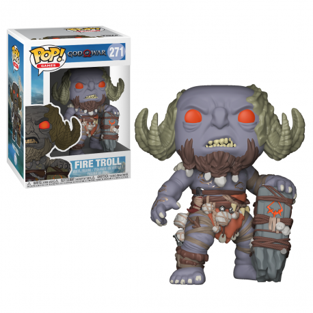 Figura Kratos God of War Pop Vinyl