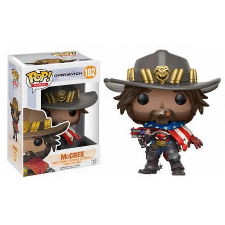 Figura Mc Cree Overwatch Pop Vinyl