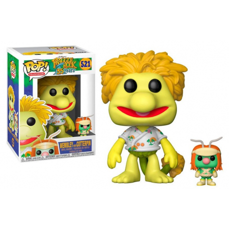 Figura Rosi Red Fraggle Rock Funko Pop