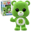 Lucky bear Flocked Exclusivo Emerald Comic Con Oso Amoroso Spring Convention Funko Pop