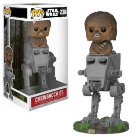 Figura Chewbacca en AT-ST Deluxe Funko Pop Star Wars