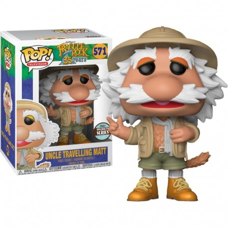 Figura Sprocket exclusiva Fraggle Rock Funko Pop