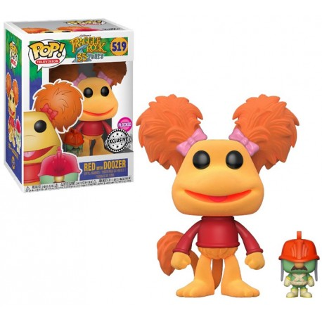 Figura Rosi Red num 519 Fraggle Rock Funko Pop