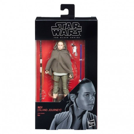 Figura Rey Last Jedi Star Wars Black Series 15cm