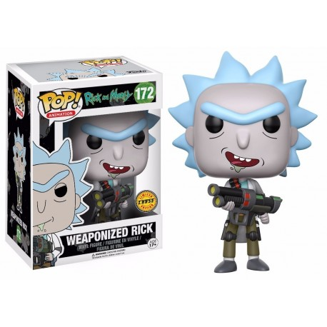 Figura Rick Weaponized num 172 Rick and Morty Pop Vinyl Funko