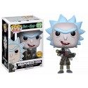 Figura Rick Weaponized Chase num 172 Rick and Morty Pop Vinyl Funko