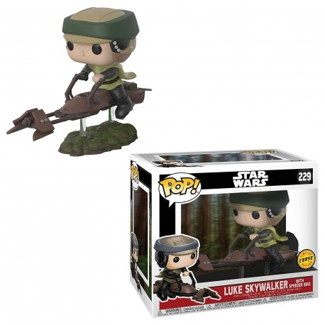 Leia Speeder Bike ENdor Funko Pop