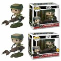Pack Luke y Leia Speeder Bike ENdor Funko Pop