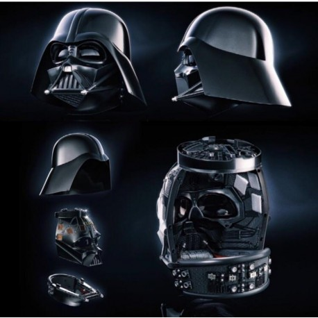 Casco Darth Vader PRemium electrónico Black Series