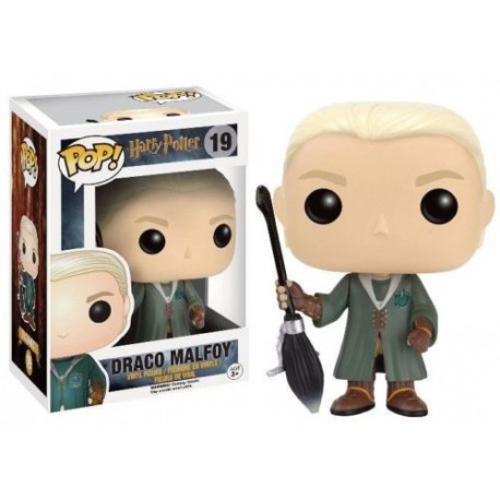 Figura Funko Draco Malfoy Harry Potter Quidditch 10 cm Pop Vinyl