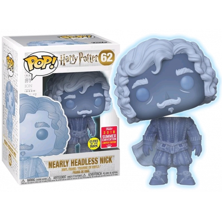 Figura Funko Nearly Headless Nick HArry Potter casi descabezado