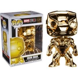 Figura Iron Man Gold Chrome Funko Pop Marvel Studios