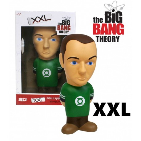 Figura SHELDON XXL40cm Cooper antiestress THE BIG BANG theory 10cm