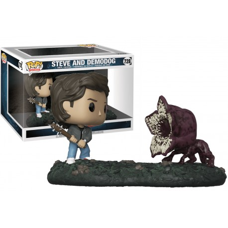 Movie Moment Eleven y Demogorgon Stranger Things Pop Vinyl Funko