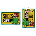 Super Mario Felpudo Shoes Off 40 x 60 cm