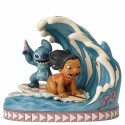 Figura Lilo y Stich 15 aniversario Jim Shore Disney Traditions