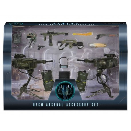PAck Dwayne Hicks William Hudson dos diguras Aliens Marine 18cm Neca Alien