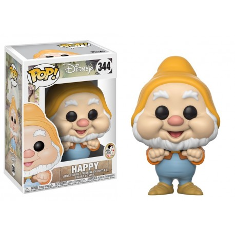 Bashful num 341 Disney Pop Funko Blancanieves y 7 enanitos