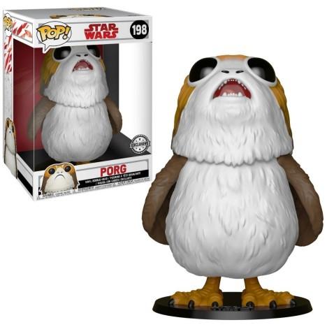 Figura Porg LAst Jedi Edición Chase Funko Pop Star Wars