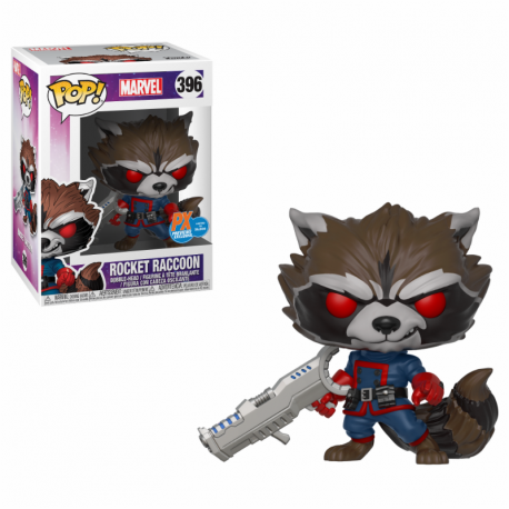 Figura Rocket Racoon Vinyl Funko Pop Guardianes de la Galaxia Vol 2