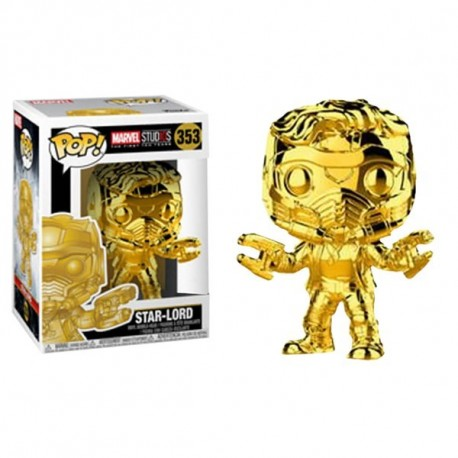 Star-Lord Classic Funko Pop Guardianes de la Galaxia Exclusiva