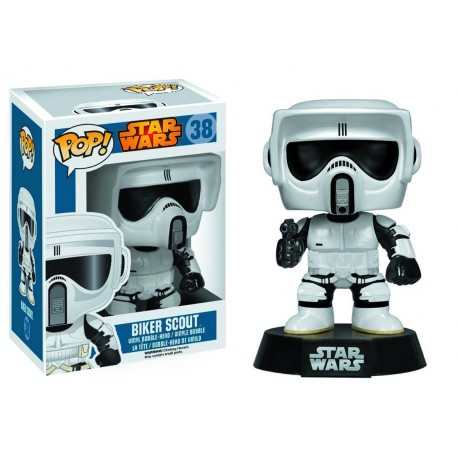 Figura Biker Scout Trooper Funko Pop Vinyl Star Wars