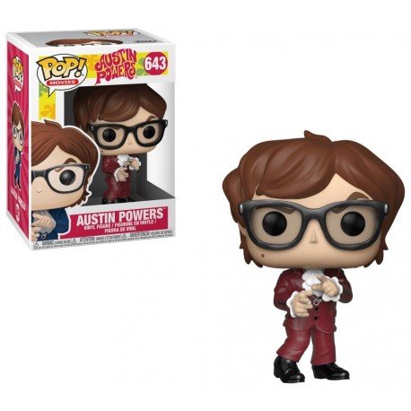 Figura Austin Powers funko Pop Vinyl