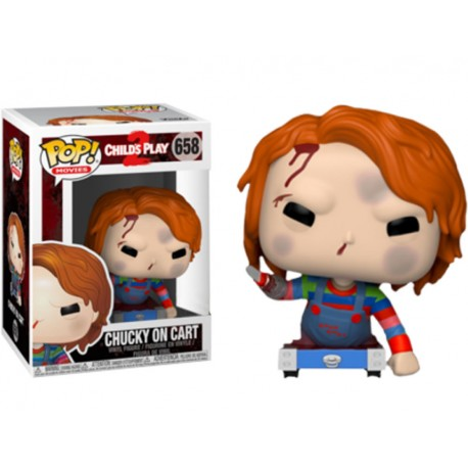 Figura Chucky Muñeco diabólico scarred Bride of Chucky Ed especial funko Pop